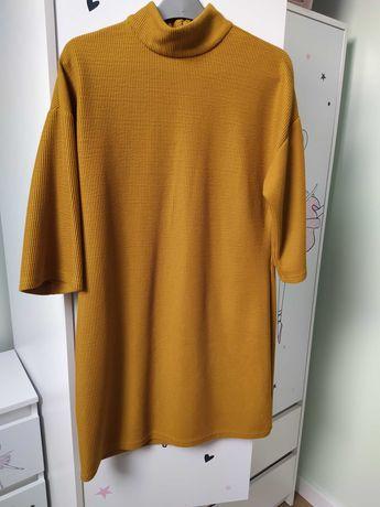 Musztardowa sukienka Primark rozm. 42
