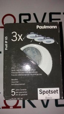 Встраеваемые светильники Paulmann 3 шт Артикул 997.46