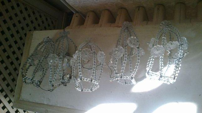 vidros em arames lagrimas diamantes esmeraldas variados cores tamanhos