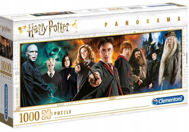 Puzzle Harry Potter 1000 el Panorama Clementoni NOWE