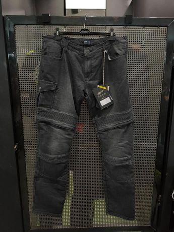 Jeansy motocyklowe Broger Ohio 36 38 40 Duże rozmiary