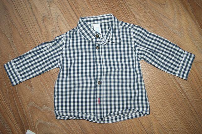 Koszule chłopięce z długim i krótkim rękawem 68 eleganckie