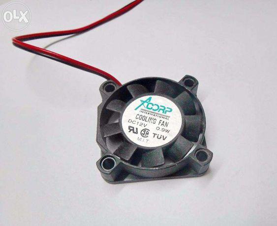 Охлаждение для видеокарты - маленький кулер (40х40мм), 12V