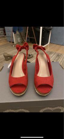 Nowe buty koturny ccc 35/36