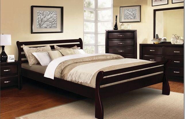 Ліжко дерев'яне 160*200