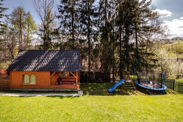 Altana ogrodowa drewniany domek letniskowy