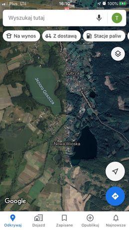 Dzialka budowlana nad jeziorem pełne uzbrojenie 10ar