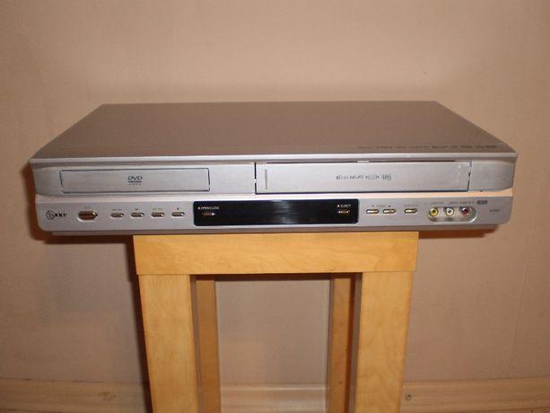 Odtwarzacz DVD z magnetowidem marki LG w BARDZO DOBRYM stanie OKAZJA!!