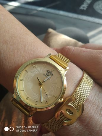 Zegarek Versace złoty