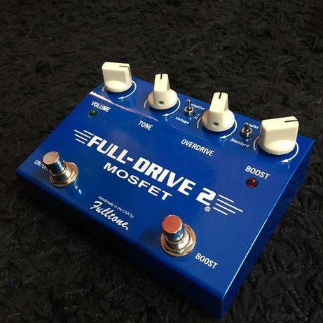 FULLTONE Full-Drive 2 Mosfet (low serial number) TS-Style Modded OD