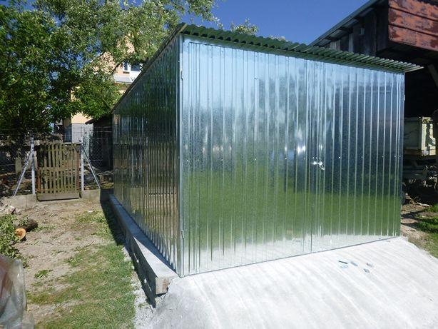 Garaż Blaszany na budowę Blaszak Schowek Garaże blaszane NAJTANIEJ