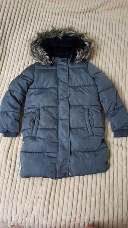 Зимняя теплая куртка-пальто George 6-7
