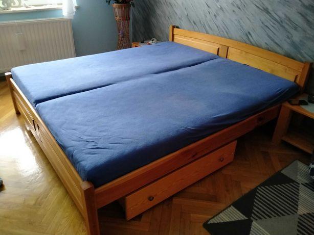 Łóżko sosnowe 2x1.8