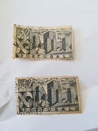 Selos antigos castelo de Guimarães 1945