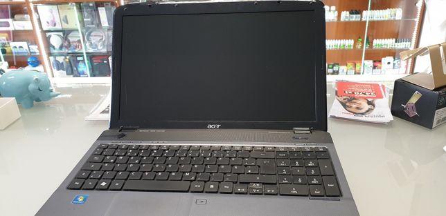 Laptop Acer Aspire 5542 uszkodzony