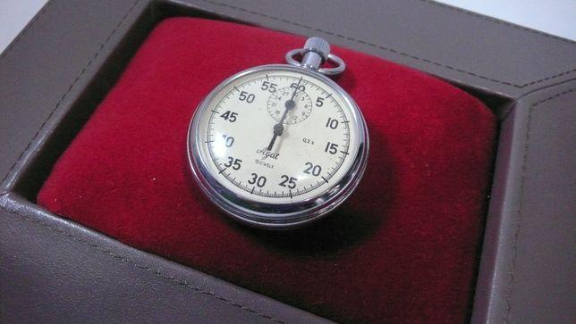 Stoper kieszonkowy zegarek Agat 15Jewels