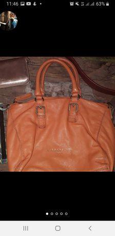 Liebeskind как новая кожаная сумка сумочка натуральная кожа яркая