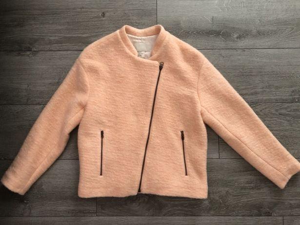 Пальто H&M шерсть мохер