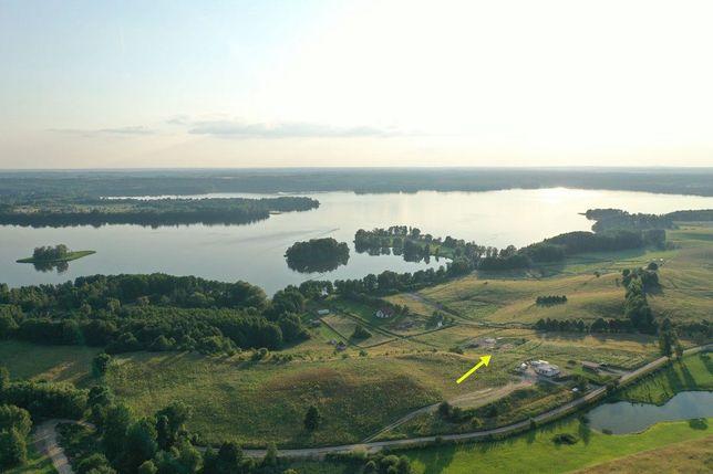 Działka nad jeziorem Dadaj Warm-Mazurskie z dostępem do jeziora