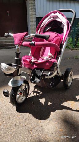Велосипед коляска TURBO. Прекрасна і удосконалена