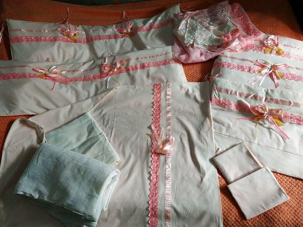 Балдахин на краватку 6в1  Защита, постельного белья, подушка, одеяло