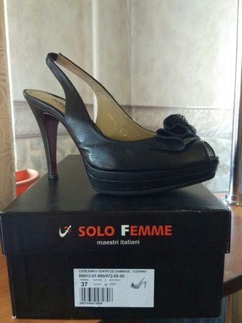 Босоножки, туфли 37 разм. Кожа, новые 1000 ₽