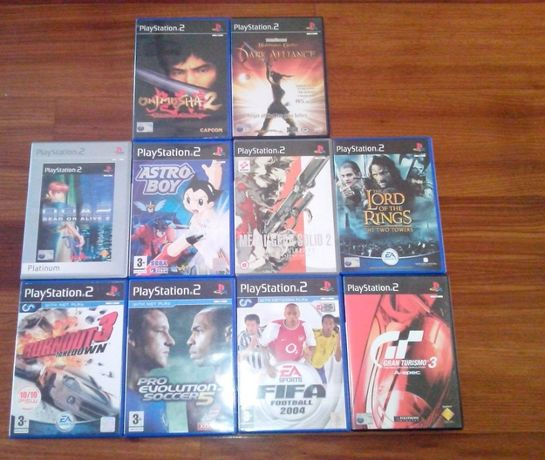6 Jogos Playstation 2 PS2