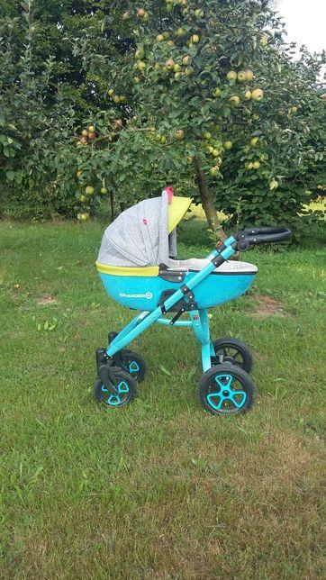 Wózek 2w1 dla chłopca plus gratis