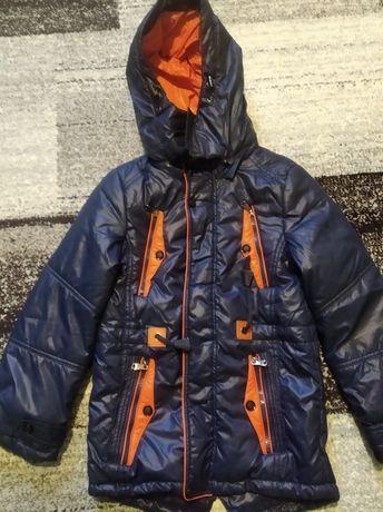 Куртка парка демисезонная р.134