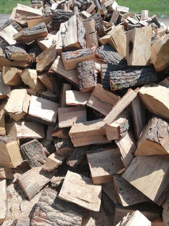 Sezonowane drewno kominkowe buk dab