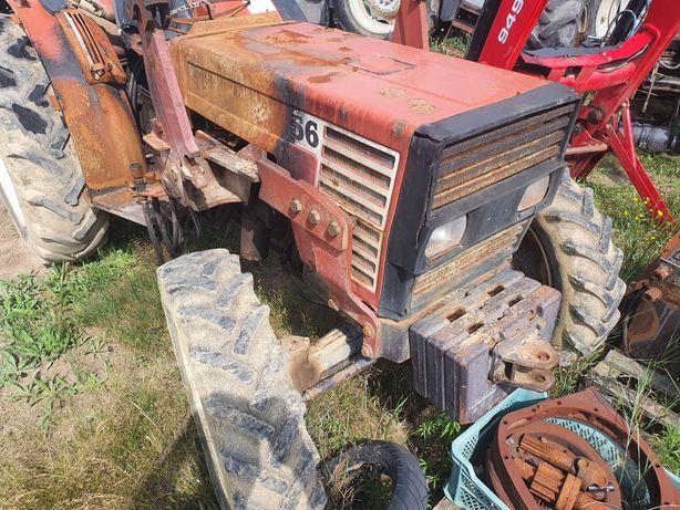 Fiat 60-66 DT sadowniczy 4x4 bez kabiny wąski komunalny ogrodniczy 60