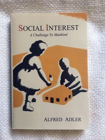 "Книга на англійській мові. ""Social interest a challenge to mankind"""