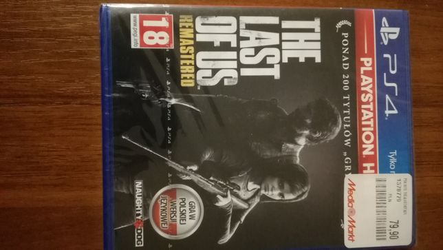 Gra The Last of us PS4