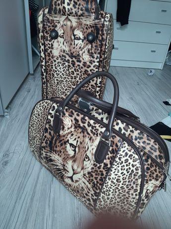 Torba zestaw torby podróżne pantera panterka