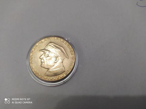 moneta 10 zł Świerczewski 1967