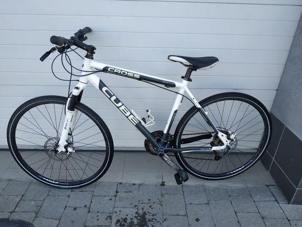 Топовий велосипед Cube cross, Deore XT, SLX, повітряна вилка, Alexrims