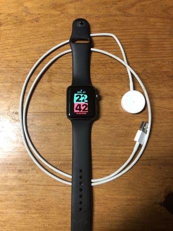 Apple watch 3 4.2G, 42mm, com fio de carregamento