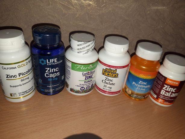 цинк пиколинат .д3 ,витамин с,эстер с ,омега,омега,цинк хелат,цинк