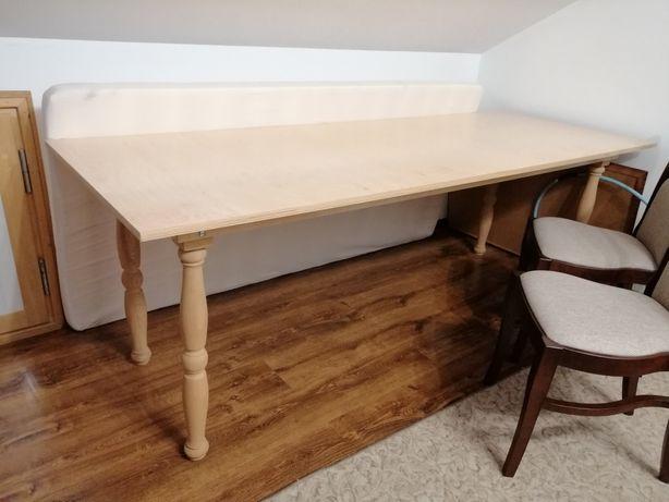 Stół własnej roboty 80x222cm solidny