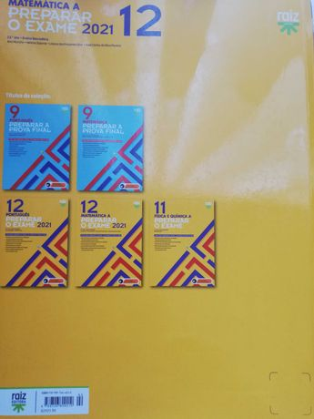 Livro de Preparação para o exame nacional Matemática  12º Ano.