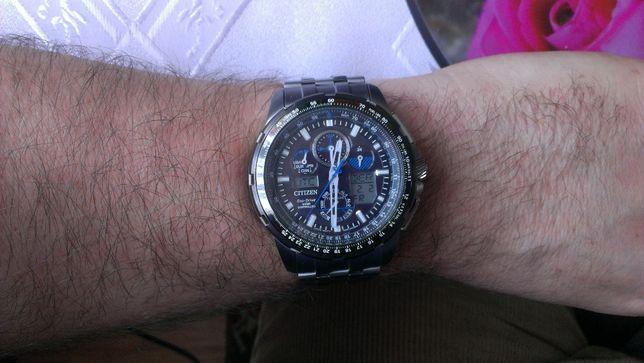 Citizen Promaster Skyhawk A-T Mens Limited Edition Titanium JY8068-56E