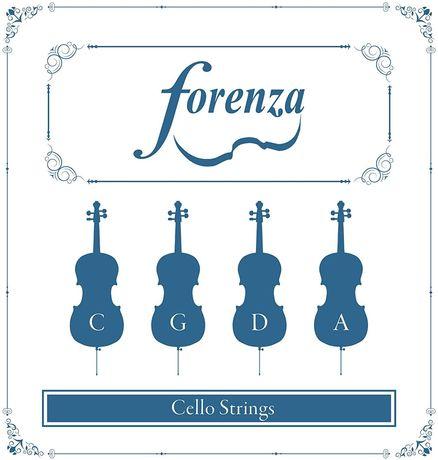 Forenza FA15COE Cello Strings for 1/2