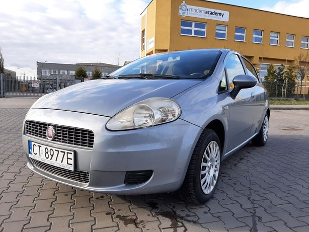 Fiat Grande Punto 1,4 77KM PL salon klima z pewną historią