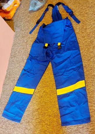 Spodnie szelki L