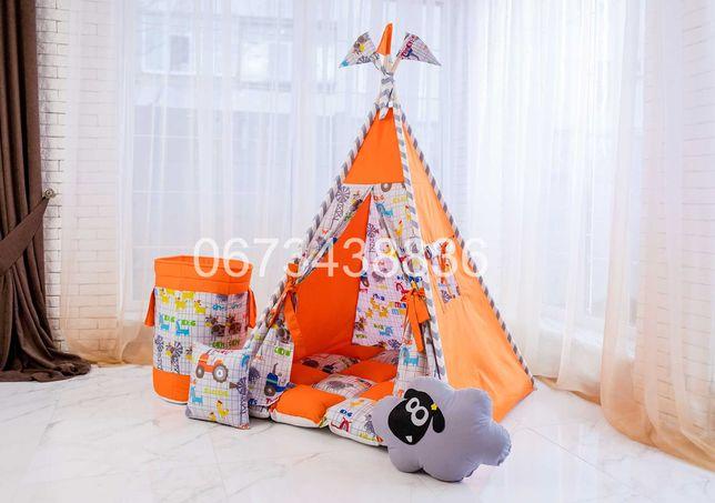 Палатка Вигвам «БАРАШЕК ШОН» Оранжевый. В наличии 50! VIGVAM ELIT