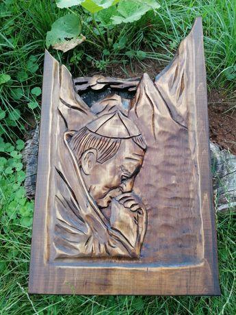 Płaskorzeźba Jana Pawła II