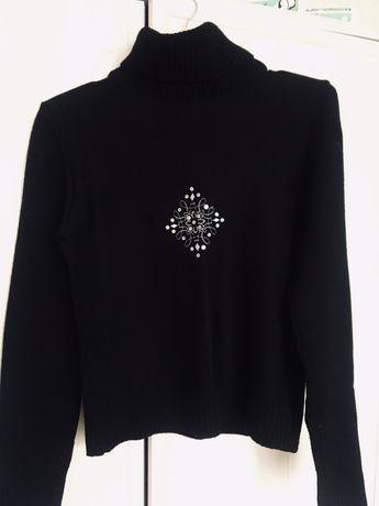 Чёрный свитер женский. Размер S-M Бесплатная доставка