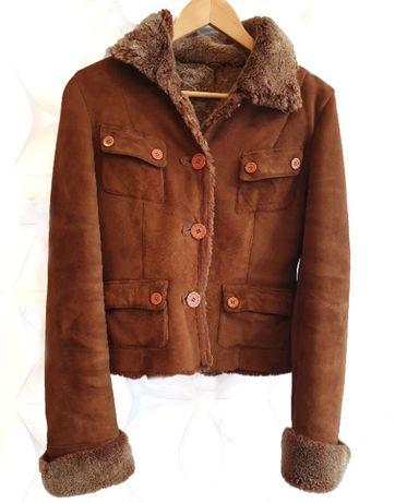 Куртка меховая (мини-дубленка)