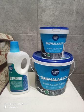 Затирка швов плитки KIILTO Saumalaasti 41, 2.5 кг, средне-серый