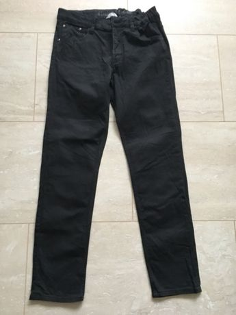 Czarne jeansy chłopięce H&M 164